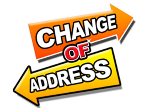 NHS change of address